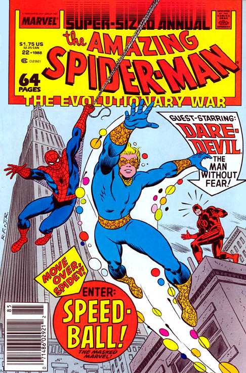 Amazing Spider-Man Annual #22 John Romita Jr. 1st appearance of Speedball