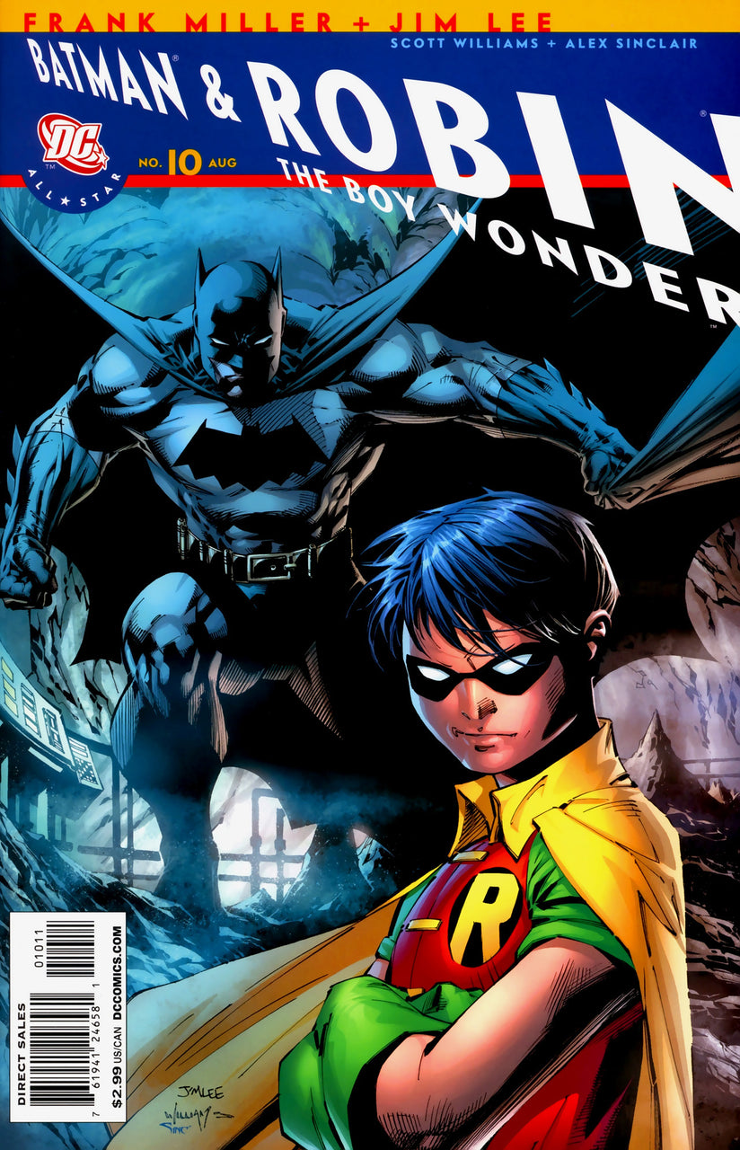 Batman & Robin Recalled Variant issue #10