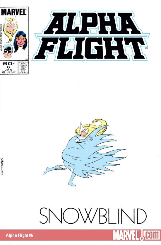 Alpha Flight issue #6 John Byrne igcomicstore