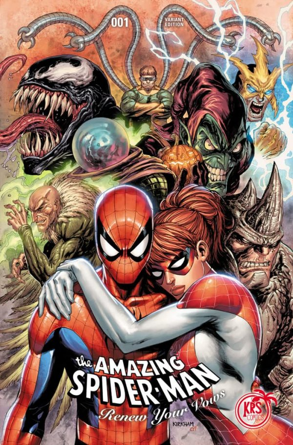 Amazing Spider-Man Renew Your Vows Variant issue #1 Tyler Kirkham