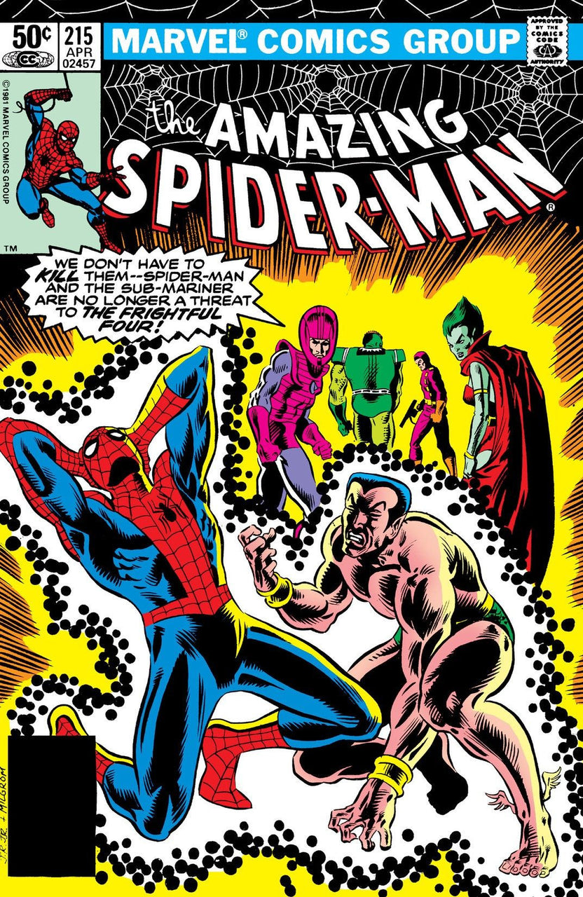 Amazing Spider-Man issue #215 John Romita igcomicstore