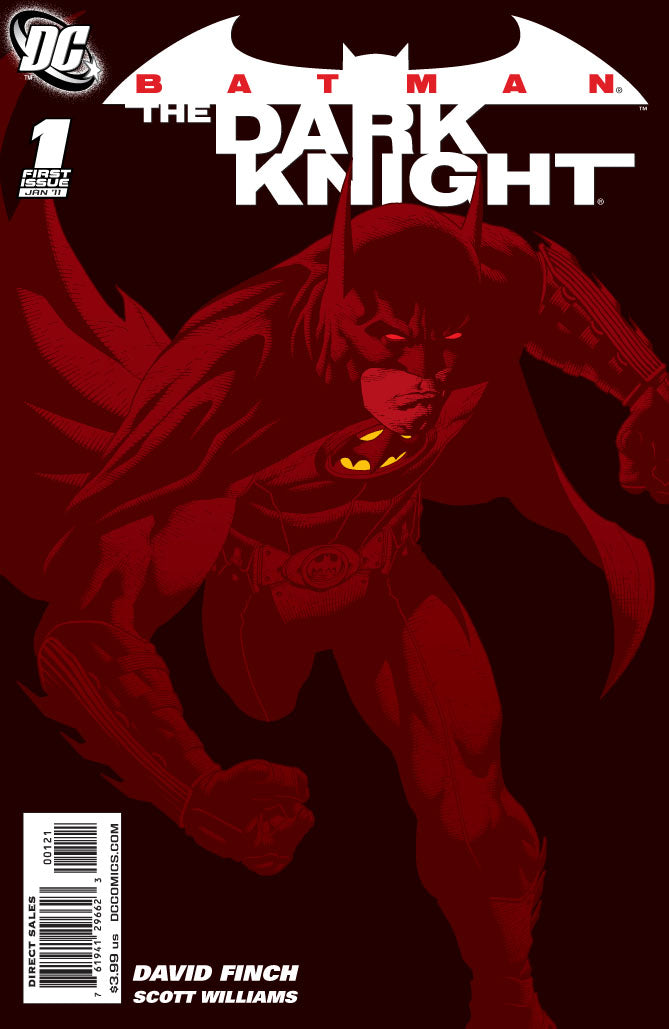 Batman: The Dark Knight 1:25 Variant issue #1