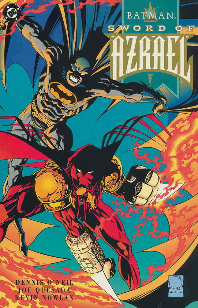 Batman: Sword Of Azrael Gold Variant Edition TPB