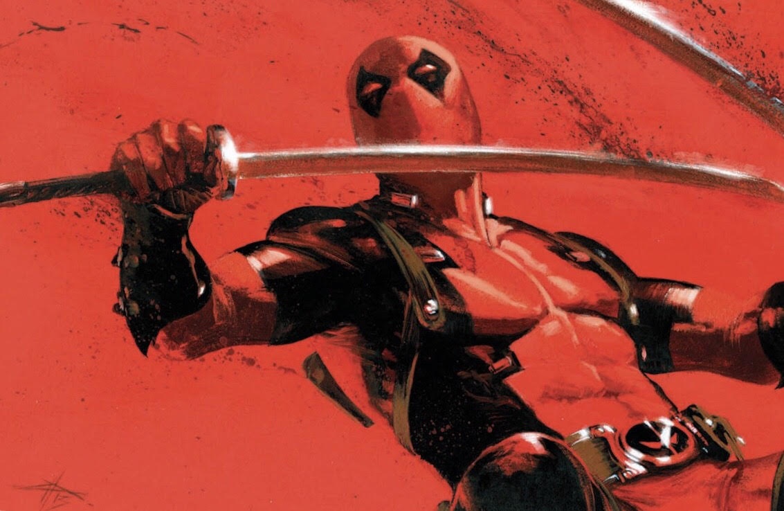 Deadpool igcomicstore Virgin Variant issue #1 Gabriele Dell'Otto