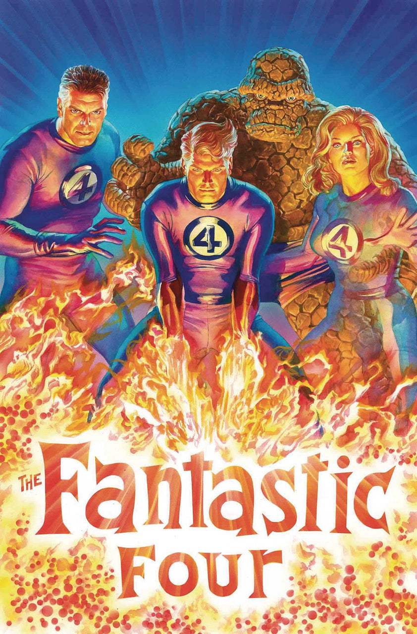 Fantastic Four 1:50 Variant issue #1 Alex Ross