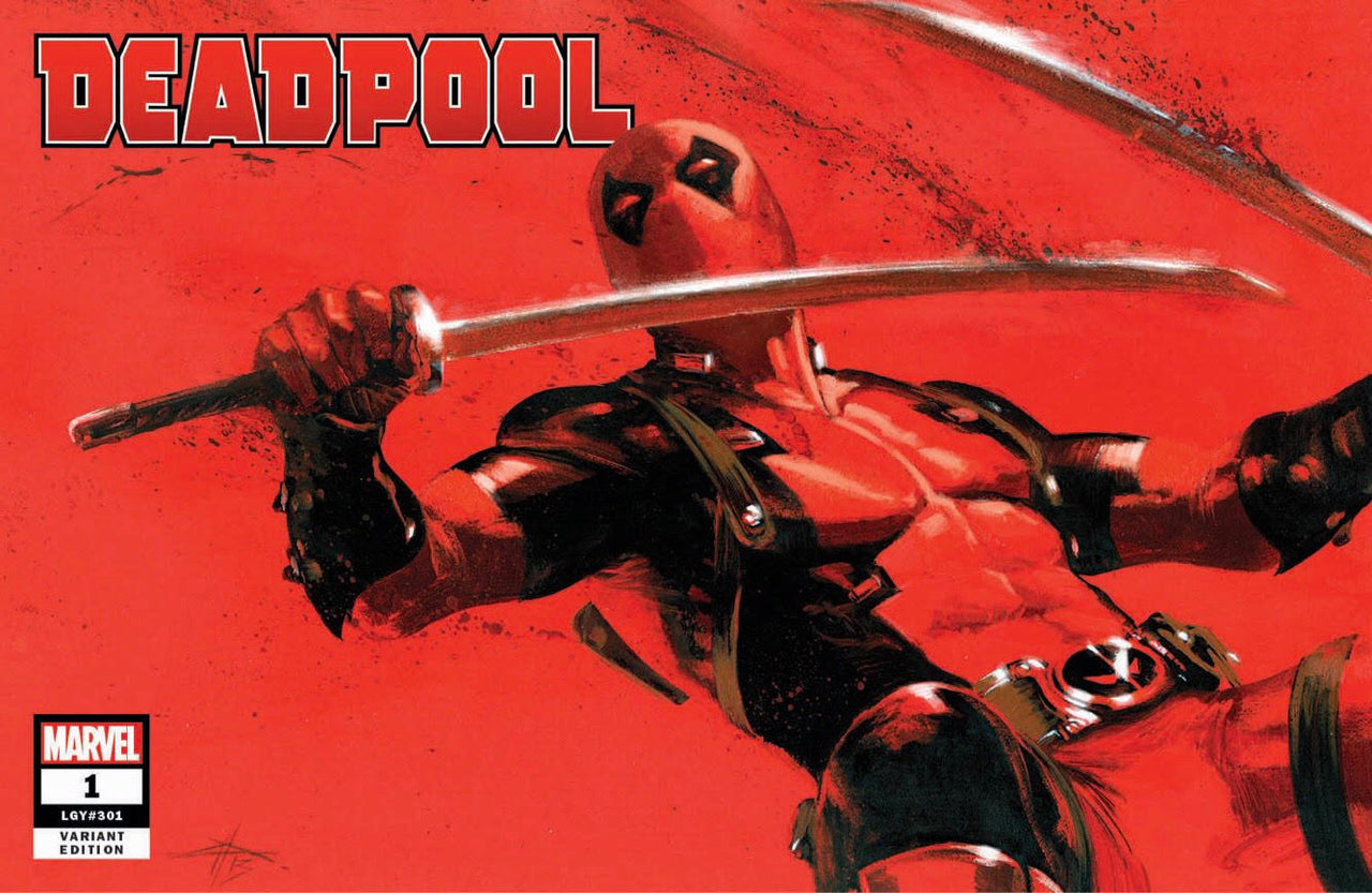Deadpool Variant issue #1 W/Numbered COA