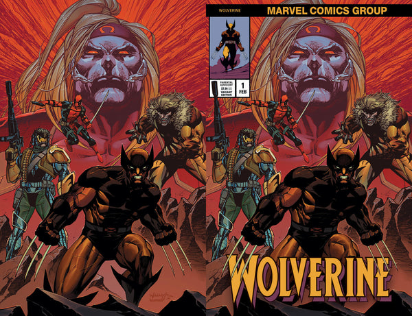 Wolverine Virgin & Classic Trade Variant Set issue #1
