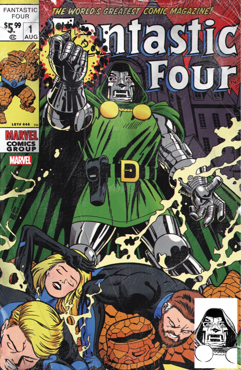Fantastic Four igcomicstore exclusive Variant issue #1 John Tyler Christopher Jack Kirby
