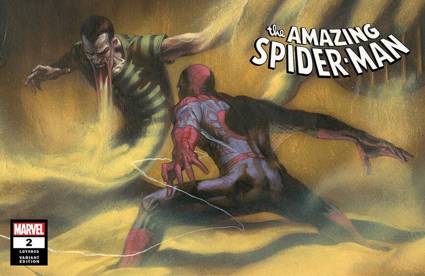 Amazing Spider-Man igcomicstore variant issue #2 Gabriele Dell'Otto