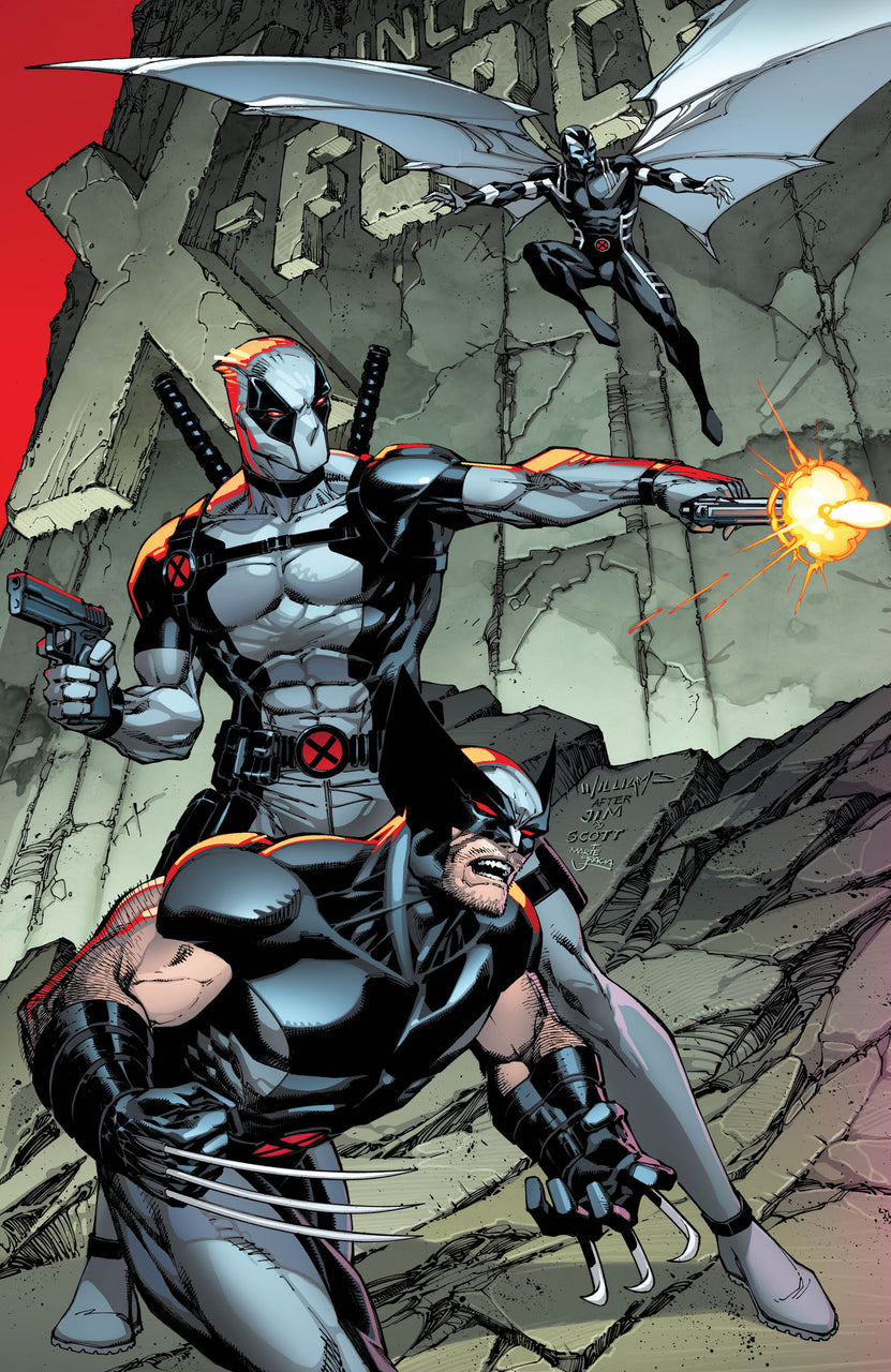 Jim Lee Scott Williams Wolverine Deadpool igcomicstore