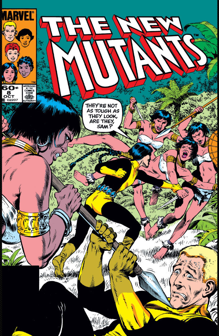 New Mutants issue #8 1st Appearance of Magma igcomicstore