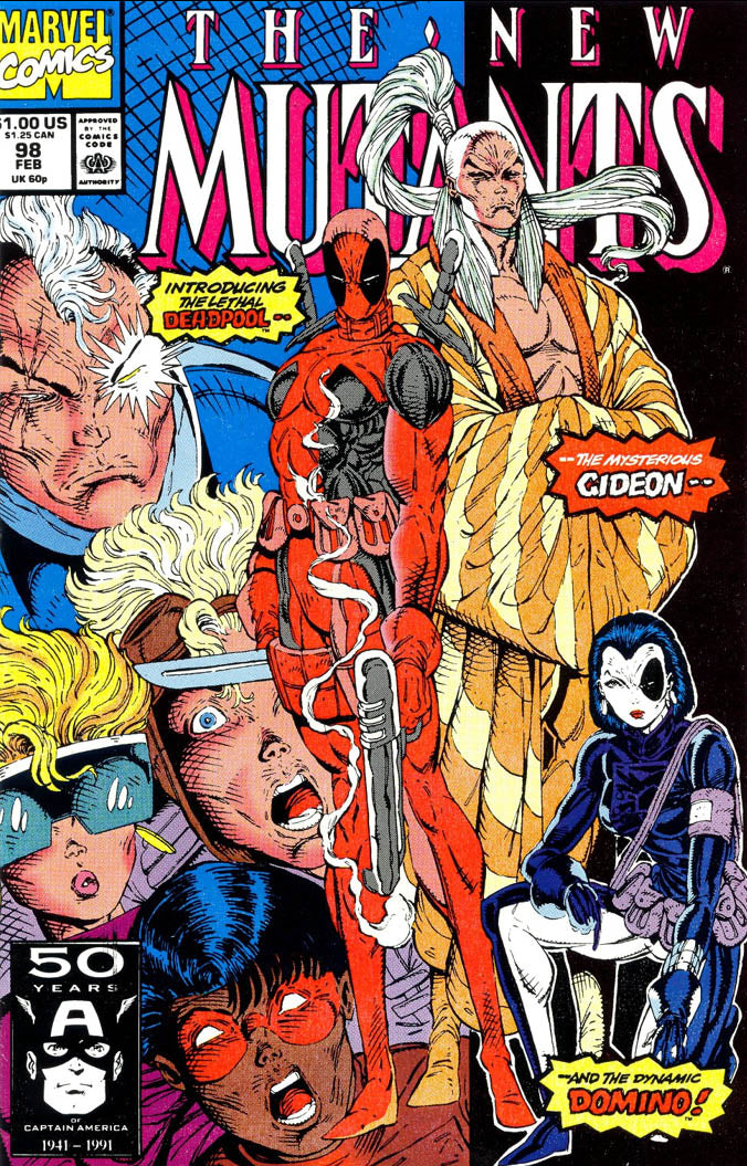 New Mutants issue  #98