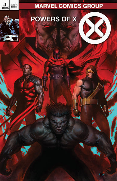 Powers of X Classic Trade Variant issue #1 Adi Granov igcomicstore