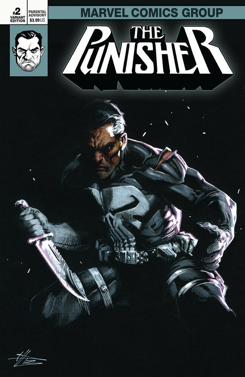 The Punisher igcomicstore exclusive Variant issue #2 Gabriele Dell'Otto