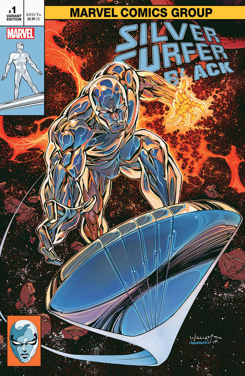 Silver Surfer Black Classic Trade Variant issue #1