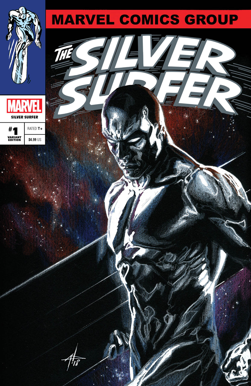 Silver Surfer Classic Trade Variant Set issue #1