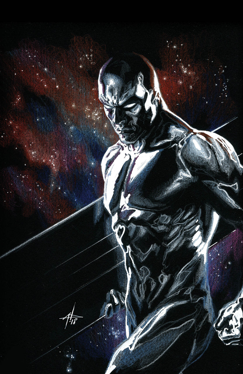The Best Defense: Silver Surfer igcomicstore Virgin & Classic Variant Set issue #1 Gabriele Dell'Otto