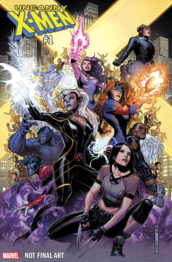 Uncanny X-MEN 1:50 Variant issue #1 Jim Cheung