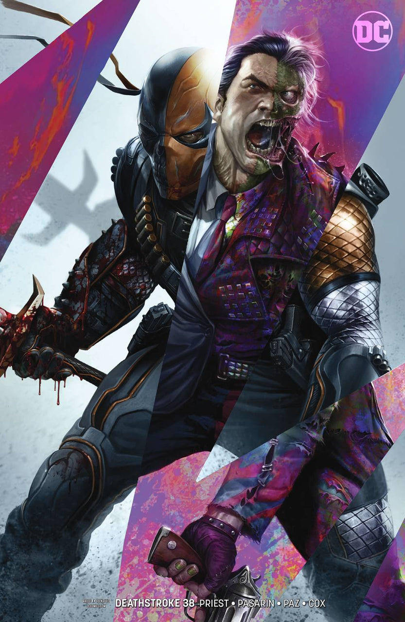 Deathstroke Variant issue #38 Francesco Mattina