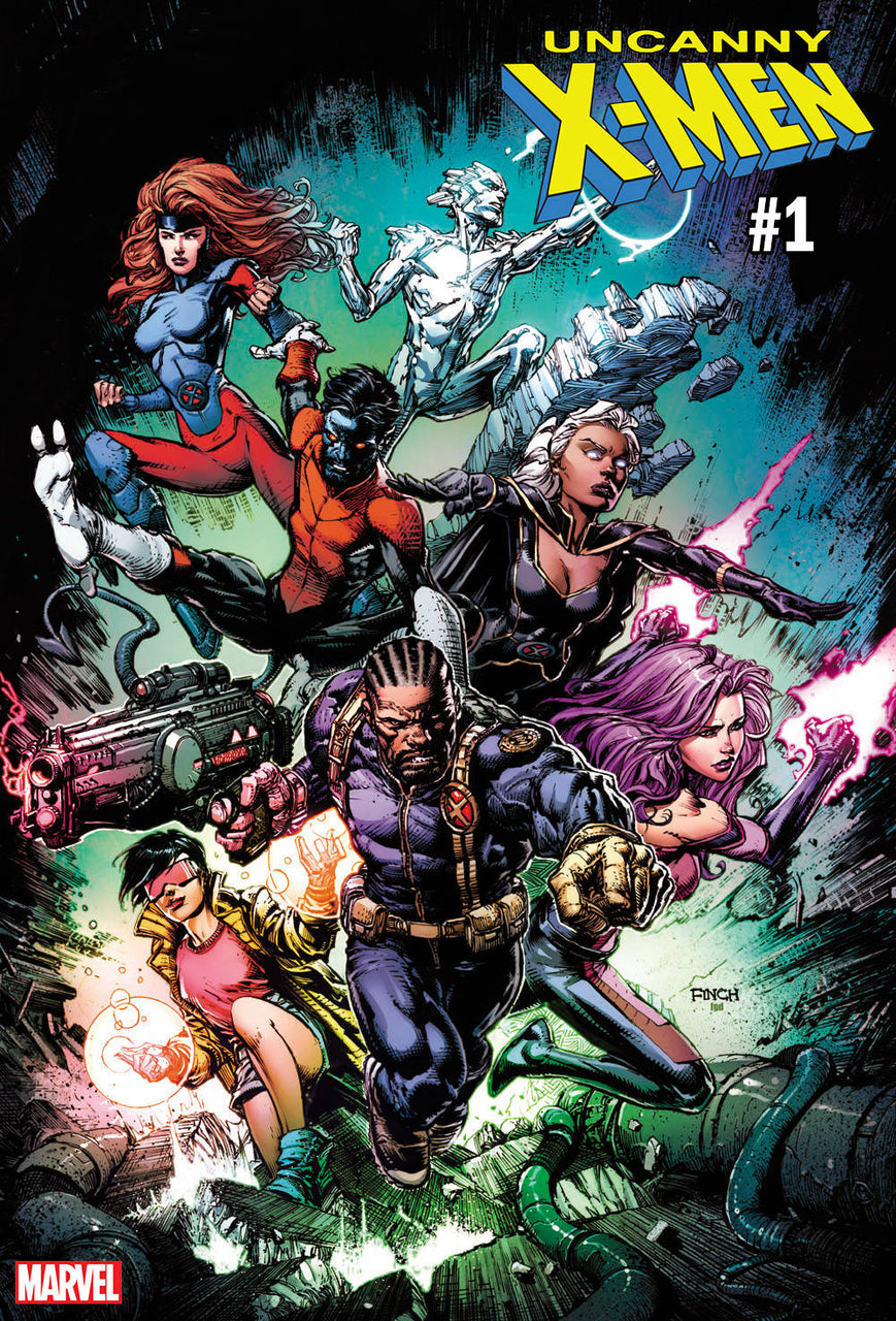 Uncanny X-MEN Variant issue #1 David Finch
