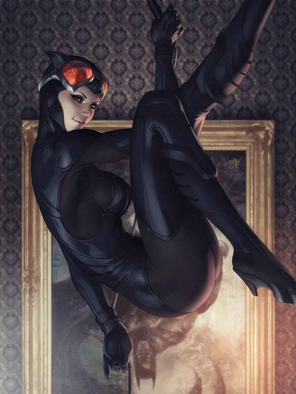 Catwoman Variant issue #9 Artgerm