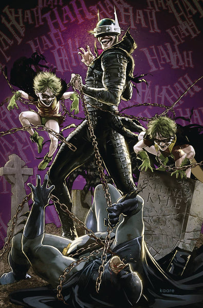 Batman Who Laughs Variant issue #4 Kaare Andrews