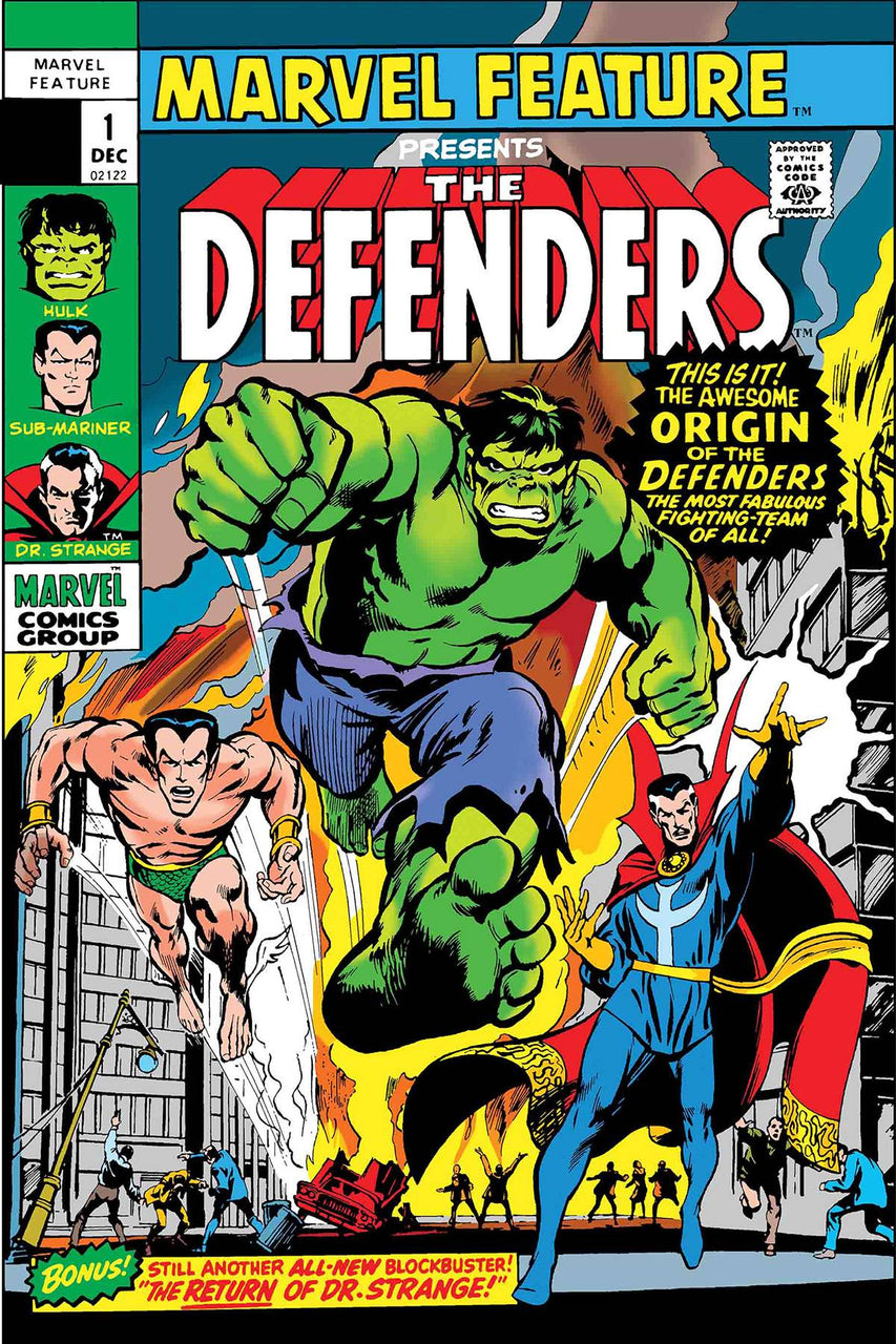 Defenders Marvel Feature FACSIMILE issue #1