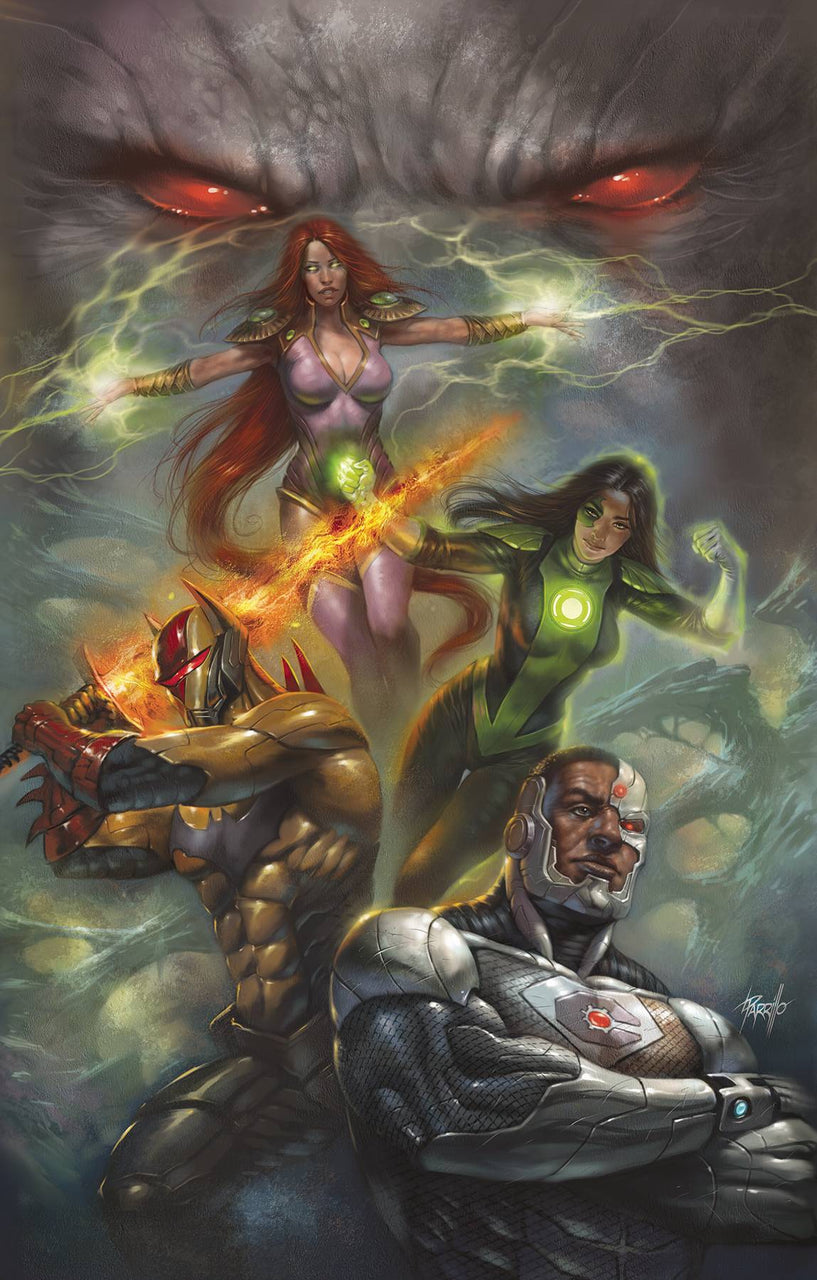 Justice League Odyssey Variant issue #9