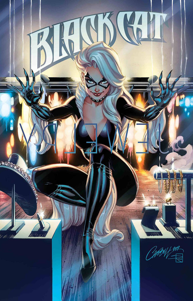 Blackcat issue #1 J Scott Campbell igcomicstore