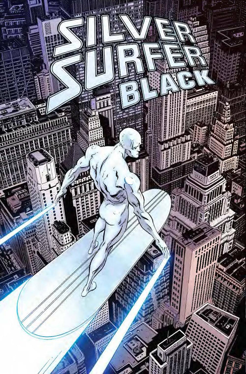 Silver Surfer Black 1:100 Hidden Gem Variant issue #1 Mike Zeck