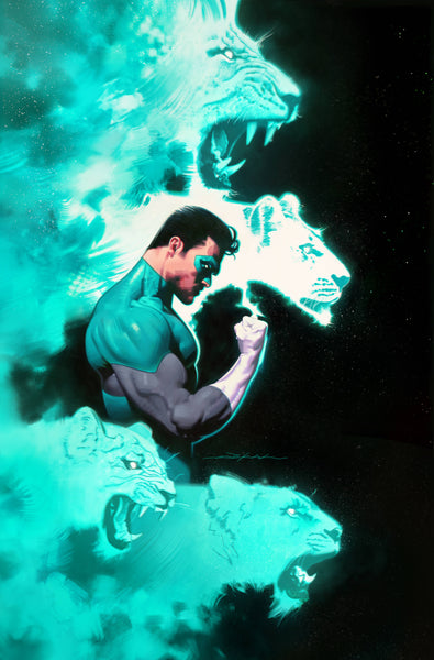 Green Lantern Variant issue #9 Jeff Dekal igcomicstore