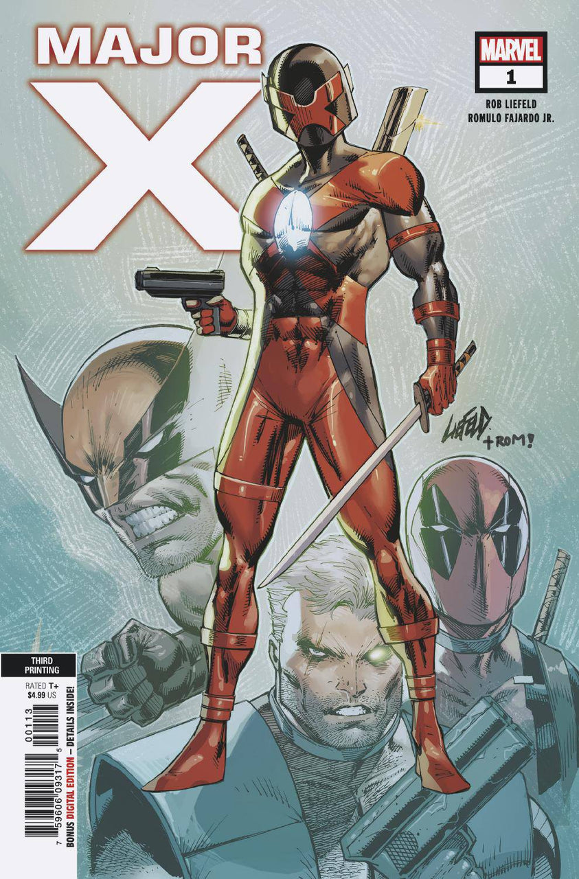 Major X 3rd Print Variant issue #1