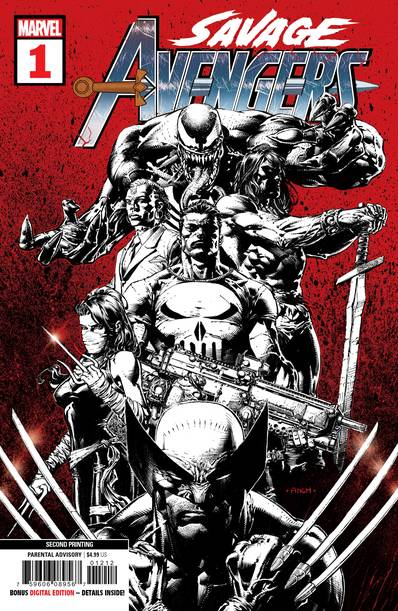 Savage Avengers 2nd Print Variant issue #1 David Finch igcomicstore