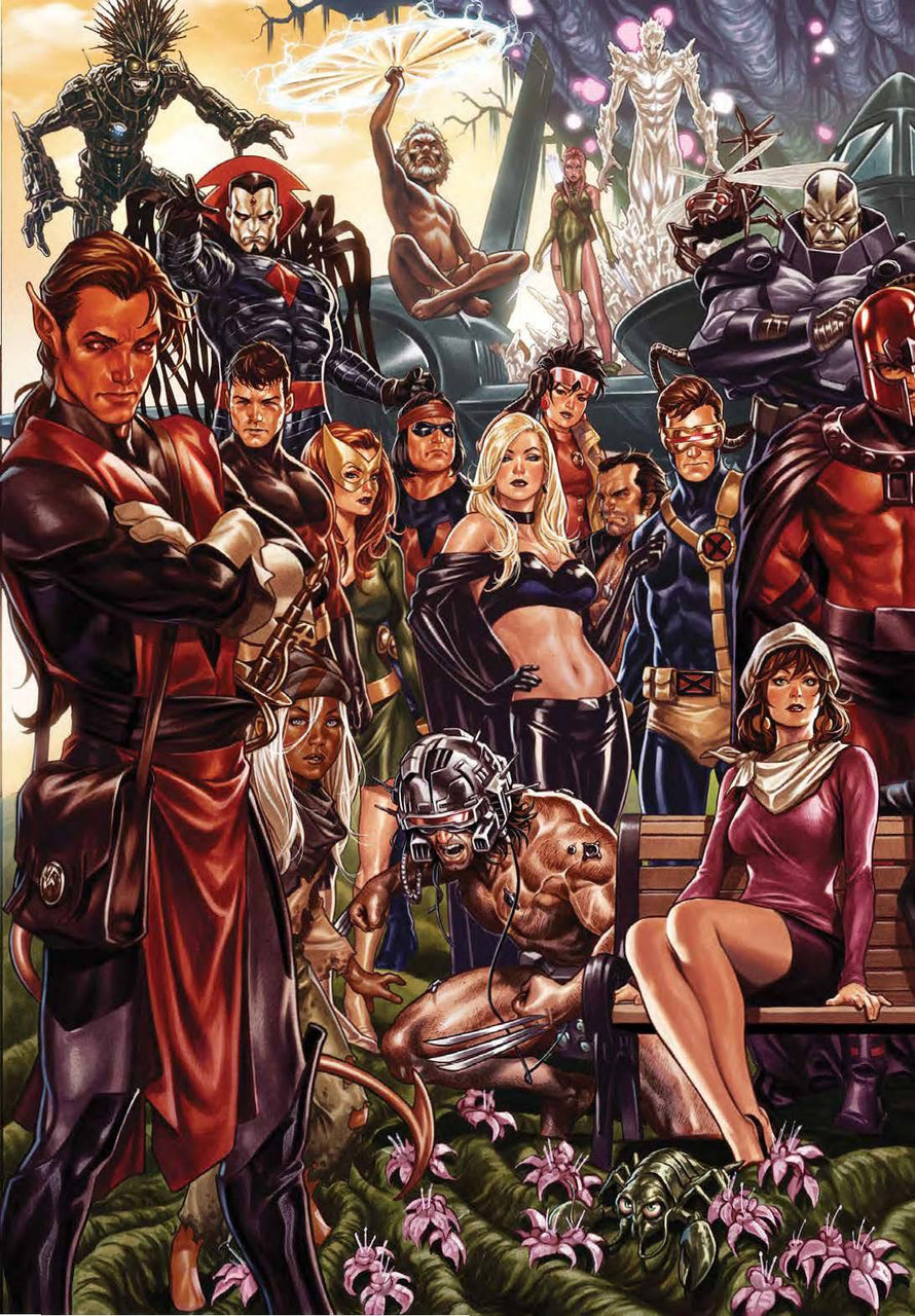 House of X 1:500 Virgin Variant issue #1 Mark Brooks igcomicstore