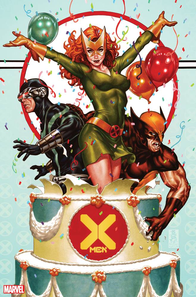 X-MEN Party Opt Variant issue #1 Mark Brooks igcomicstore