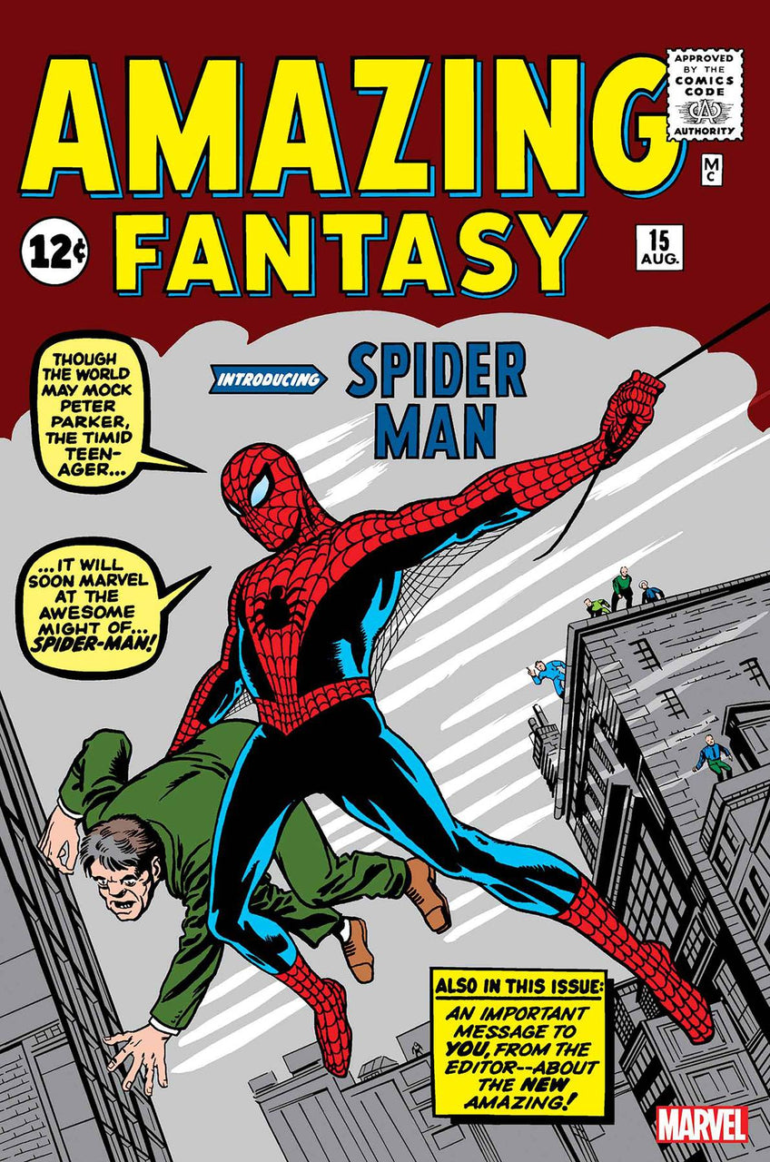Amazing Fantasy FACSIMILE Edition issue #15 Stan Lee igcomicstore
