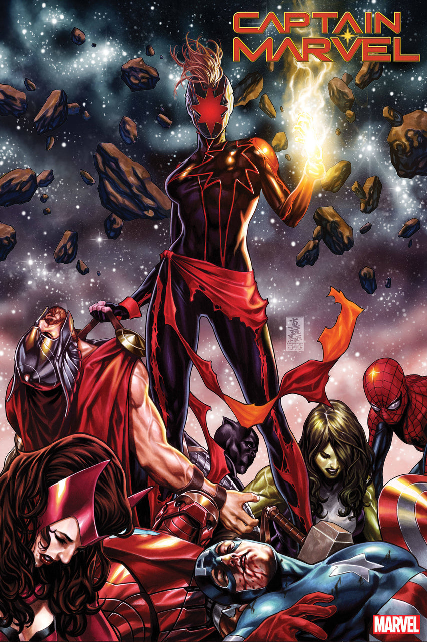 Captain Marvel issue #12 Mark Brooks igcomicstore