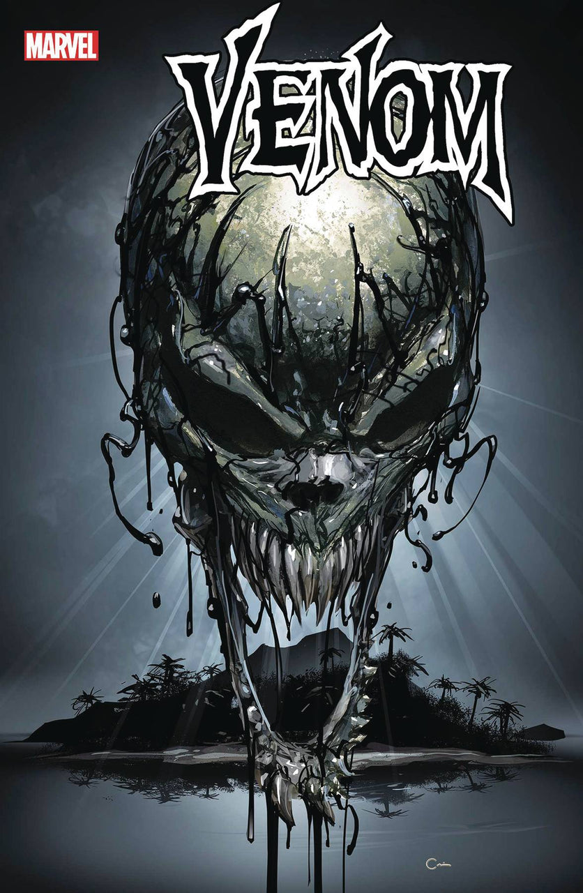 Venom Teaser Variant issue #21 with cover art by Clayton Crain igcomicstore