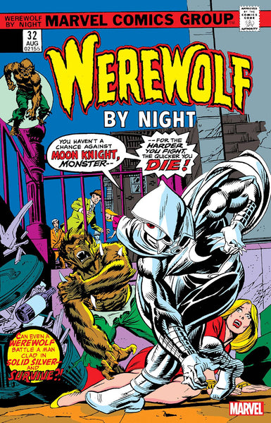 Werewolf By Night Facsimile Edition issue #32 - SHIPS 07/20/21