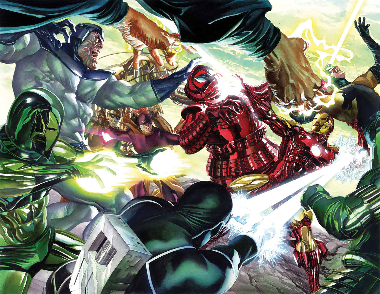Iron Man Wraparound Cover issue #1