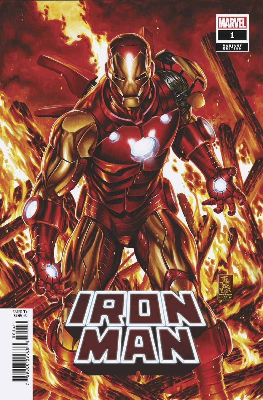 Iron Man 1:50 Variant issue #1 CGC 9.8 - SHIPS 10/16/20