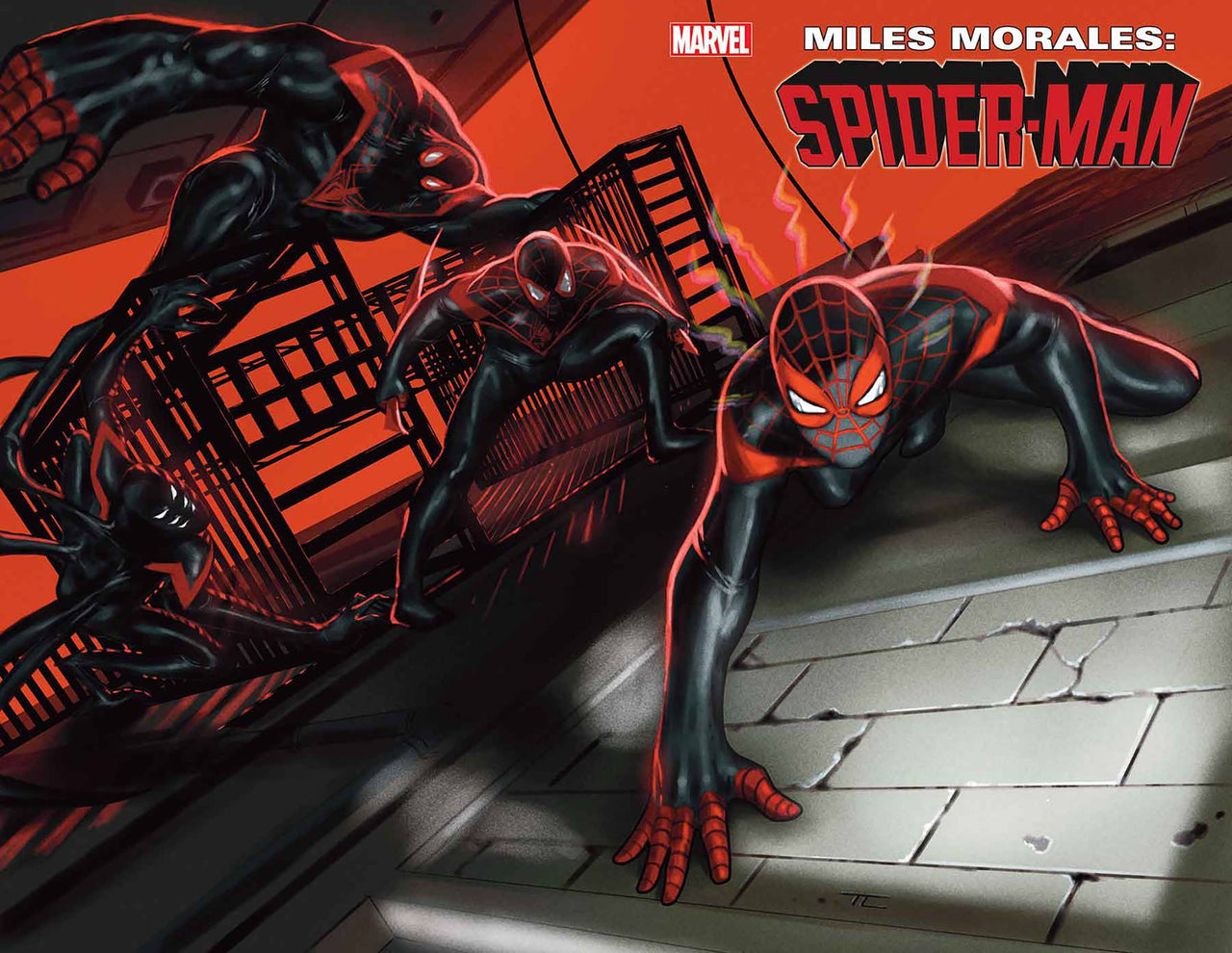 Miles Morales: Spider-Man Wraparound Cover issue #25  - SHIPS 05/15/21