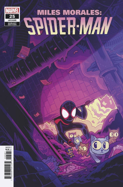 Miles Morales: Spider-Man 1:50 Variant issue #25  - SHIPS 05/15/21