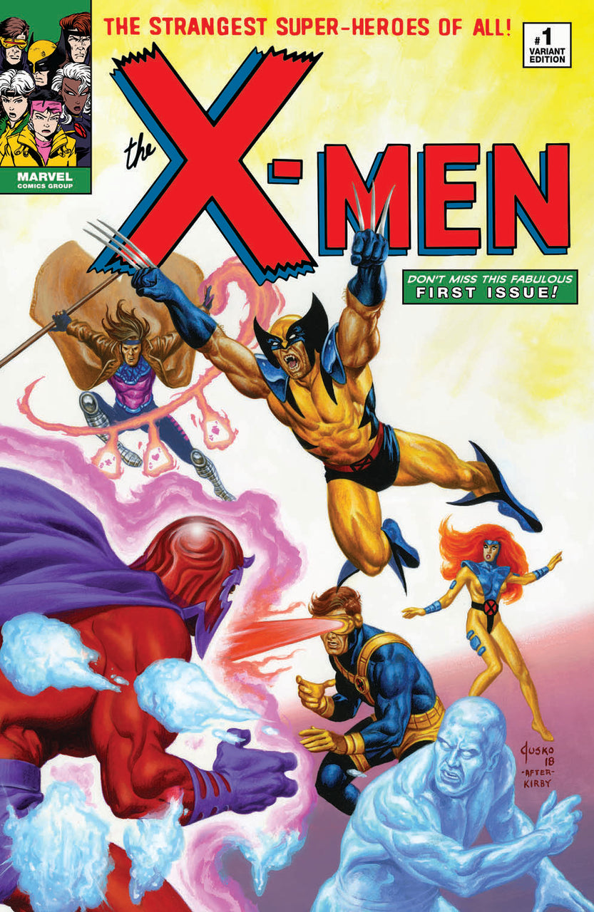 Uncanny X-MEN igcomicstore Exclusive Variant issue #1 Joe Jusko after Jack Kirby