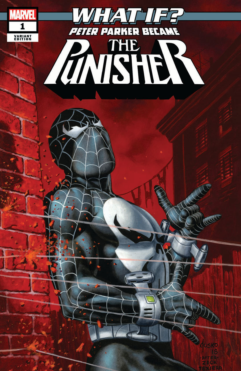 What IF? Peter Parker Became The Punisher Classic Variant issue #1 Joe Jusko igcomicstore