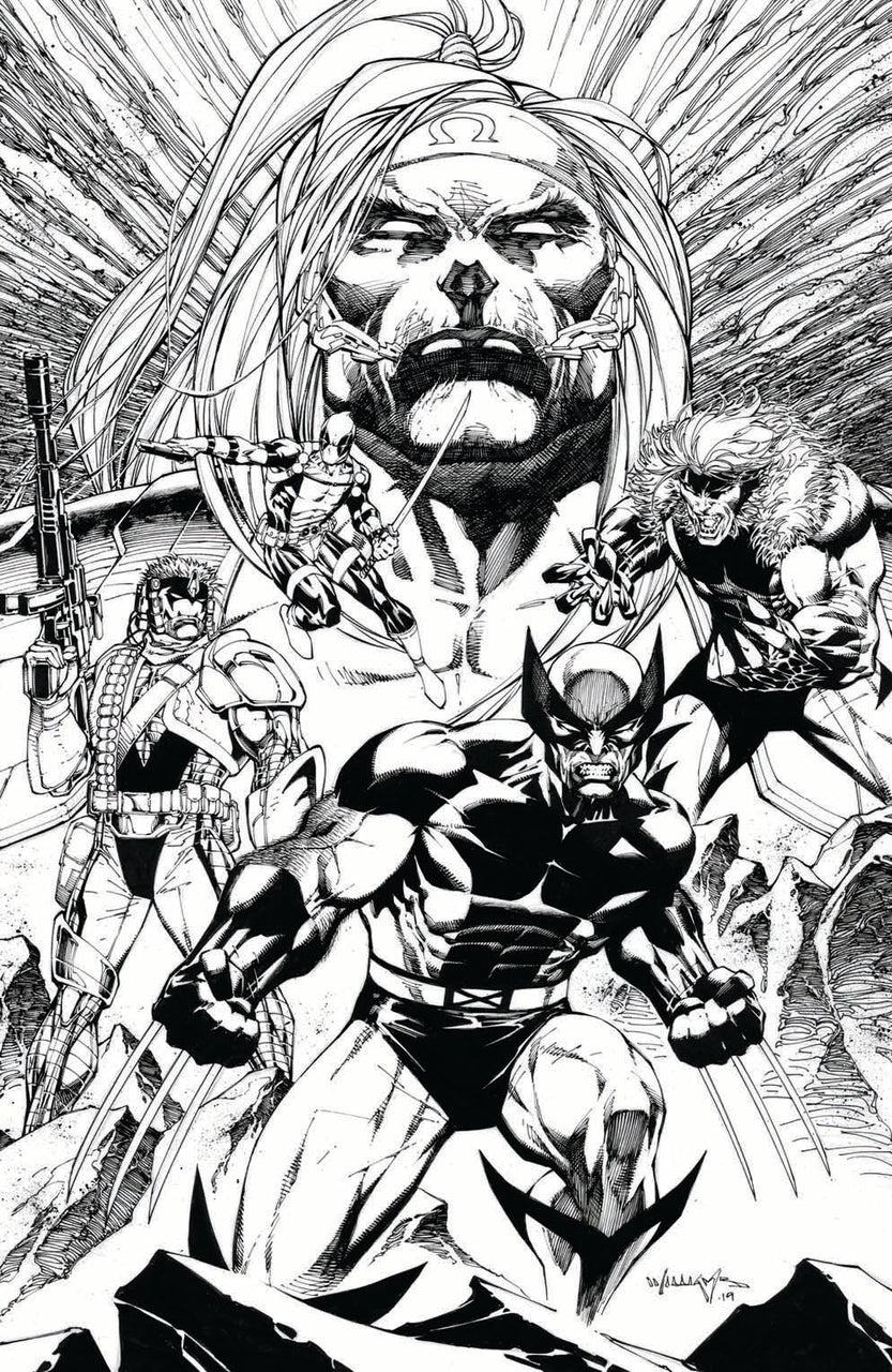 Wolverine Virgin Sketch Variant issue #1 - SHIPS 03/01/20