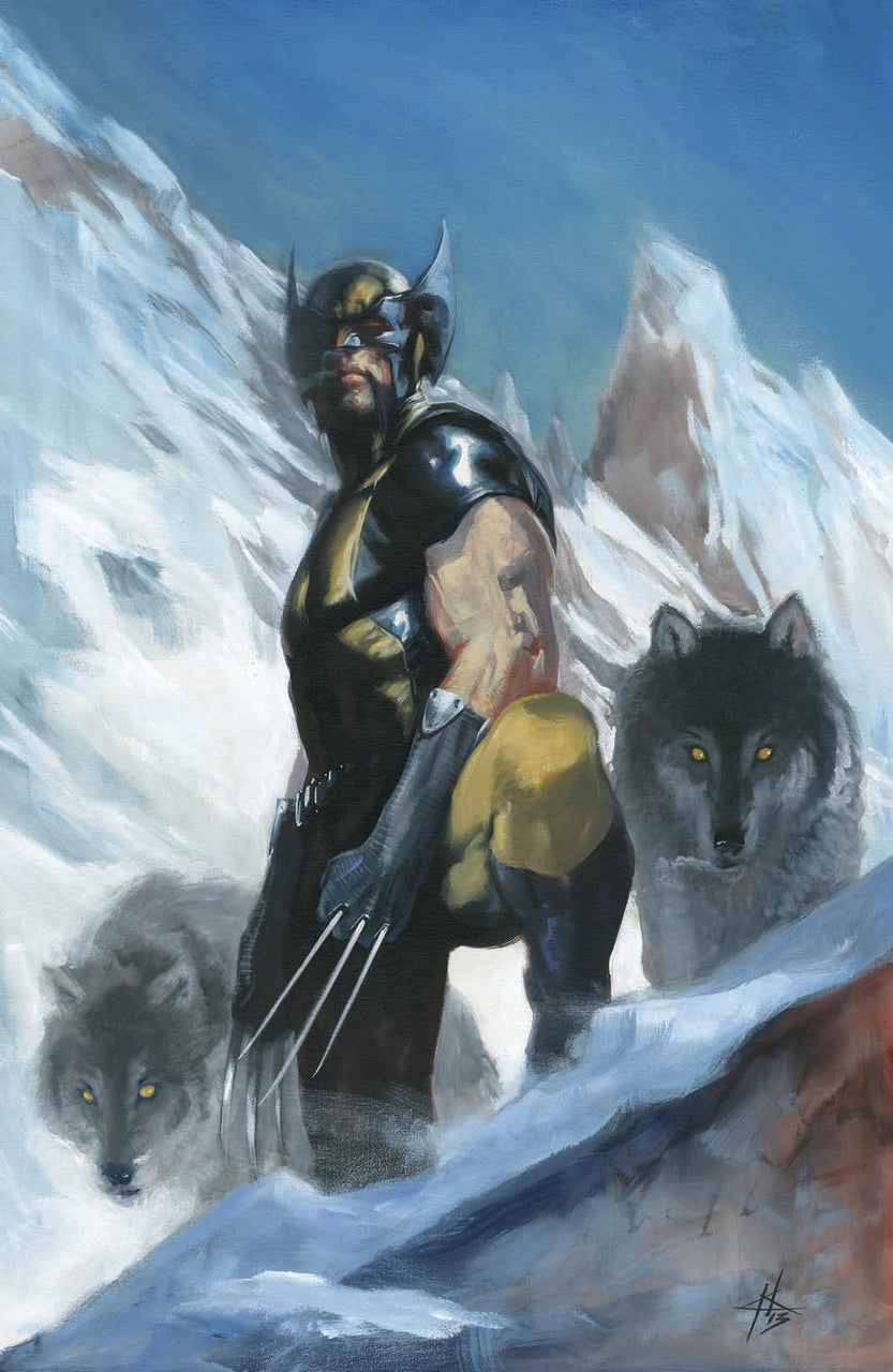 Return Of Wolverine Virgin Variant issue #1 W/COA