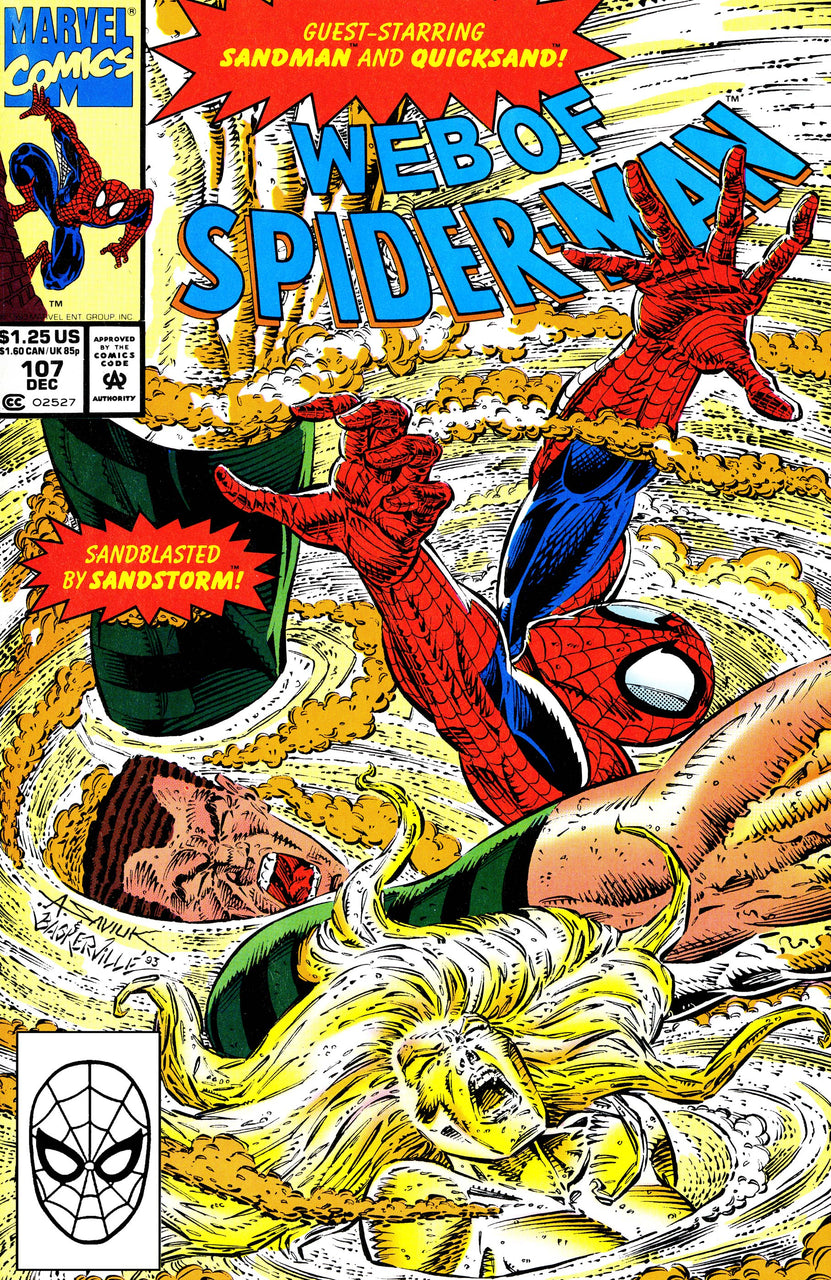 Web of Spider-Man issue #107