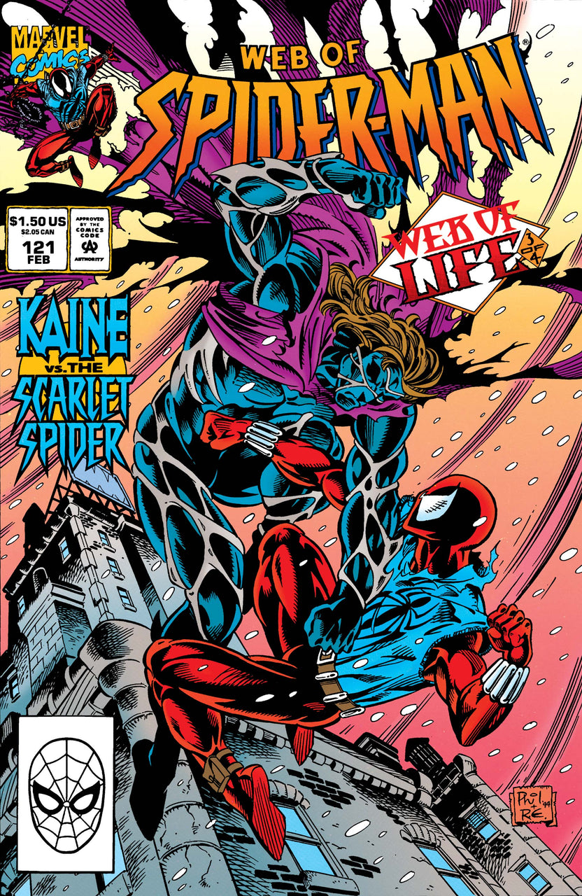 Web of Spider-Man issue #121