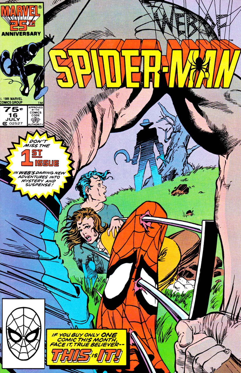 Web of Spider-Man issue #16